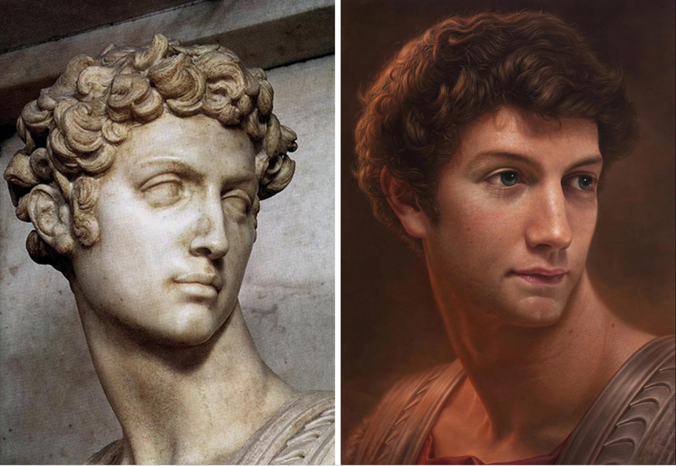 Chiêm ngưỡng những chân dung nổi tiếng được vẽ lại bằng phong cách cực thực (hyperrealistic) - 11