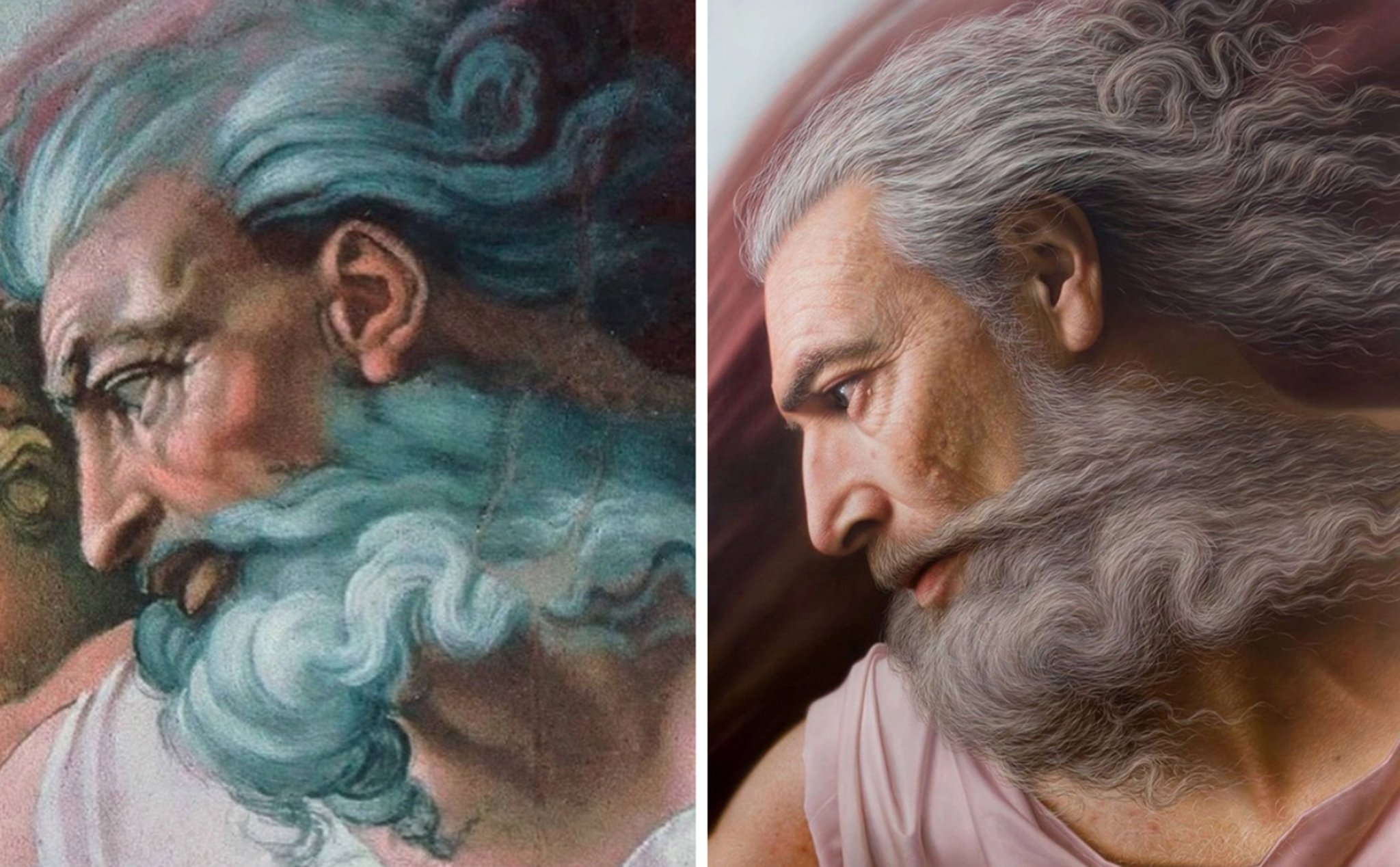 Chiêm ngưỡng những chân dung nổi tiếng được vẽ lại bằng phong cách cực thực (hyperrealistic) - 1