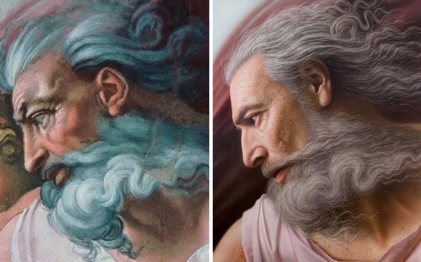 Chiêm ngưỡng những chân dung nổi tiếng được vẽ lại bằng phong cách cực thực (hyperrealistic) - 3