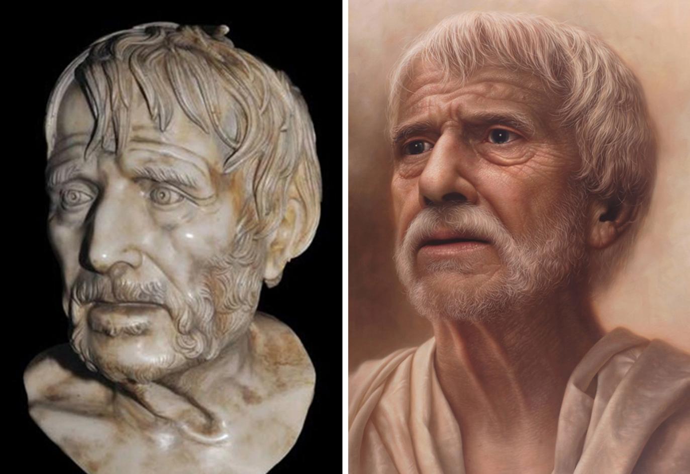 Chiêm ngưỡng những chân dung nổi tiếng được vẽ lại bằng phong cách cực thực (hyperrealistic) - 10