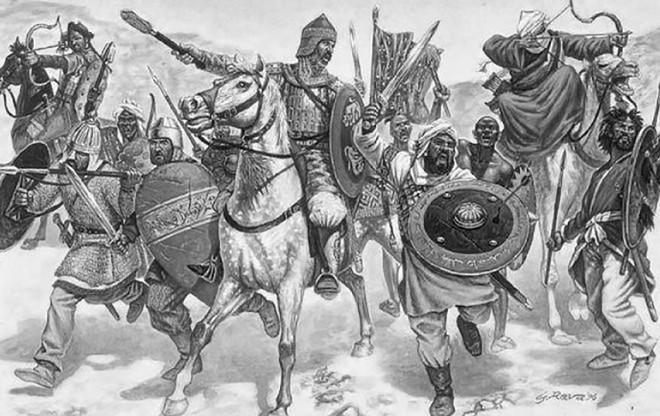 Đế chế Hồi giáo - Từ bộ lạc du mục trở thành đế chế hùng mạnh - 14