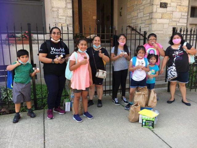 Hành trình gặp Chúa và giúp người nghèo của sơ Stephanie Baliga ở Chicago - 4