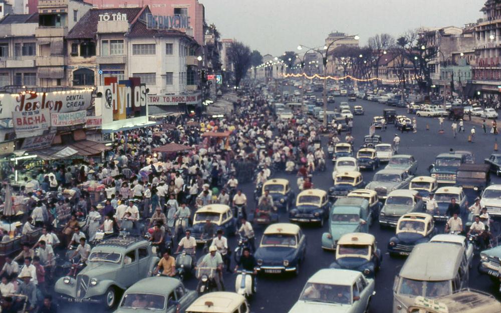 60 tấm ảnh màu đẹp nhất của đường phố Saigon thập niên 1960-1970 - 65