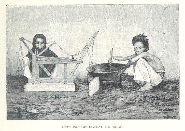 Loạt tranh minh họa về cuộc sống Việt Nam những năm 1884-1885 - 3