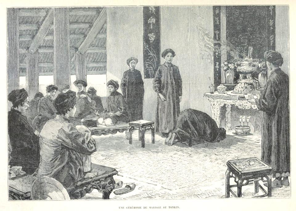 Loạt tranh minh họa về cuộc sống Việt Nam những năm 1884-1885 - 4