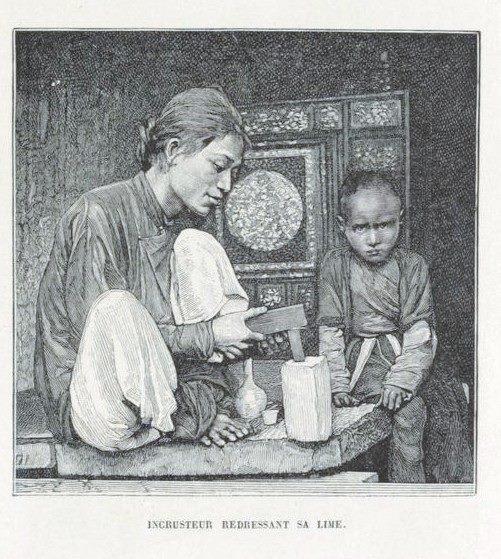 Loạt tranh minh họa về cuộc sống Việt Nam những năm 1884-1885 - 10