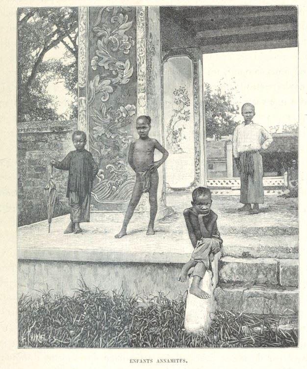 Loạt tranh minh họa về cuộc sống Việt Nam những năm 1884-1885 - 25
