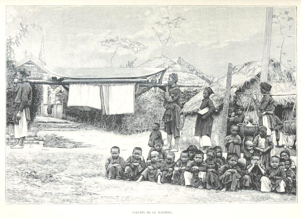 Loạt tranh minh họa về cuộc sống Việt Nam những năm 1884-1885 - 9