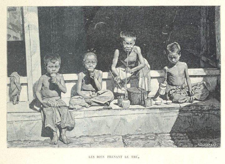 Loạt tranh minh họa về cuộc sống Việt Nam những năm 1884-1885 - 2