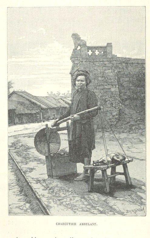 Loạt tranh minh họa về cuộc sống Việt Nam những năm 1884-1885 - 11