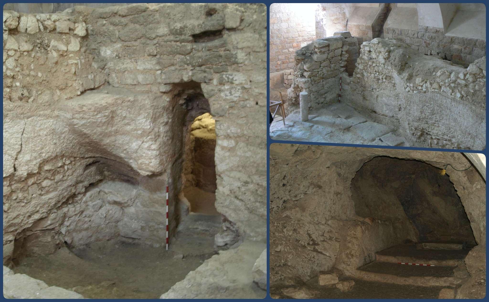 Khai quật ngôi nhà nằm dưới một tu viện ở Nazareth được cho là nhà của Chúa Giêsu - 1