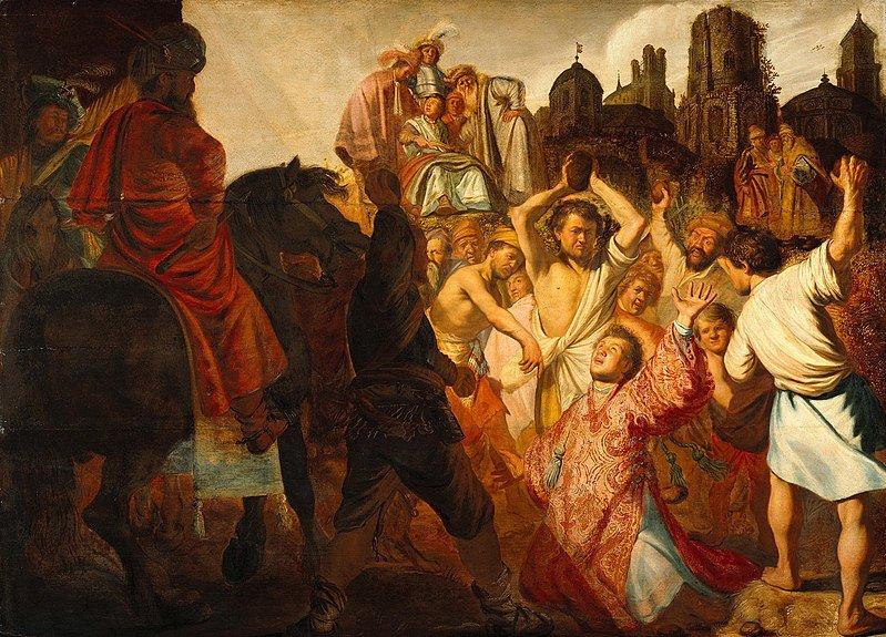 Chút cảm nghĩ qua chuyện Thánh Stephen tử vì đạo - 11