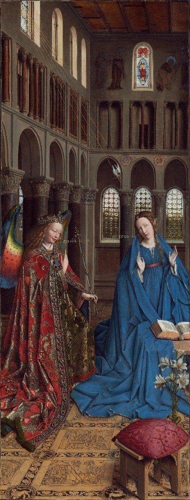 Đức Mẹ và ý nghĩa biểu tượng của hoa Bách hợp trong hội họa cổ điển - 2