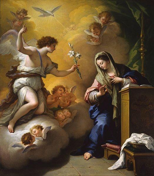 Đức Mẹ và ý nghĩa biểu tượng của hoa Bách hợp trong hội họa cổ điển - 1