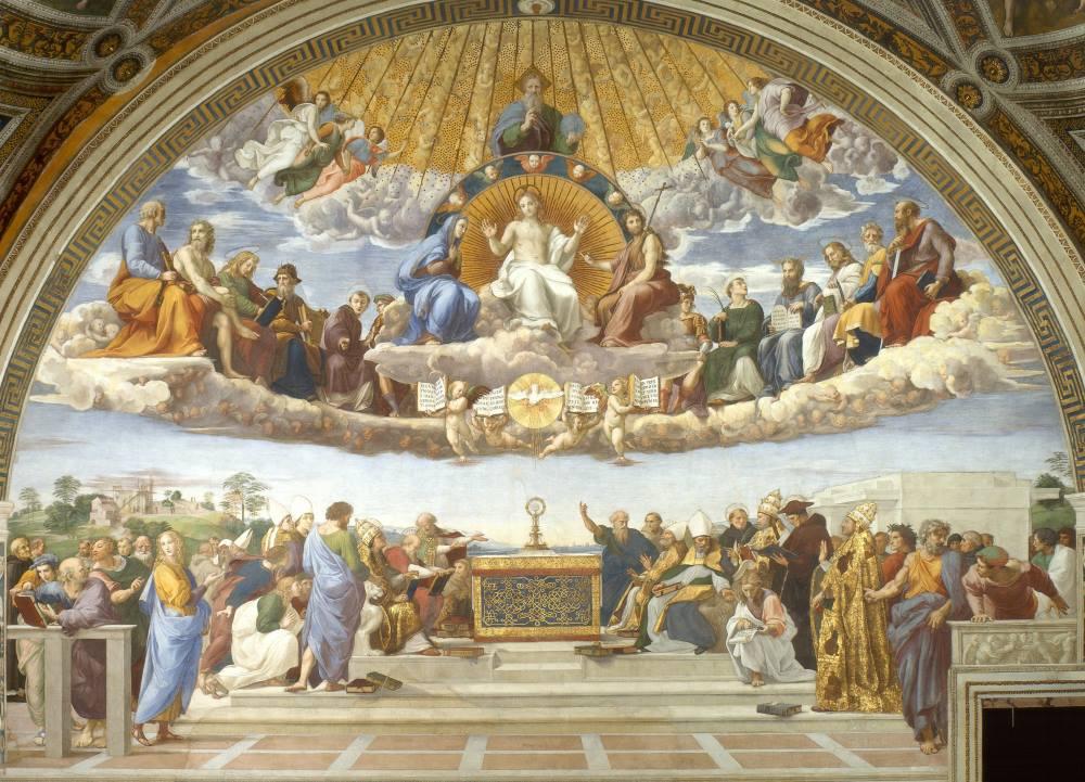 """Cuộc tranh luận giữa Plato và Aristotle trong kiệt tác """"Học viện Athens"""" - 5"""