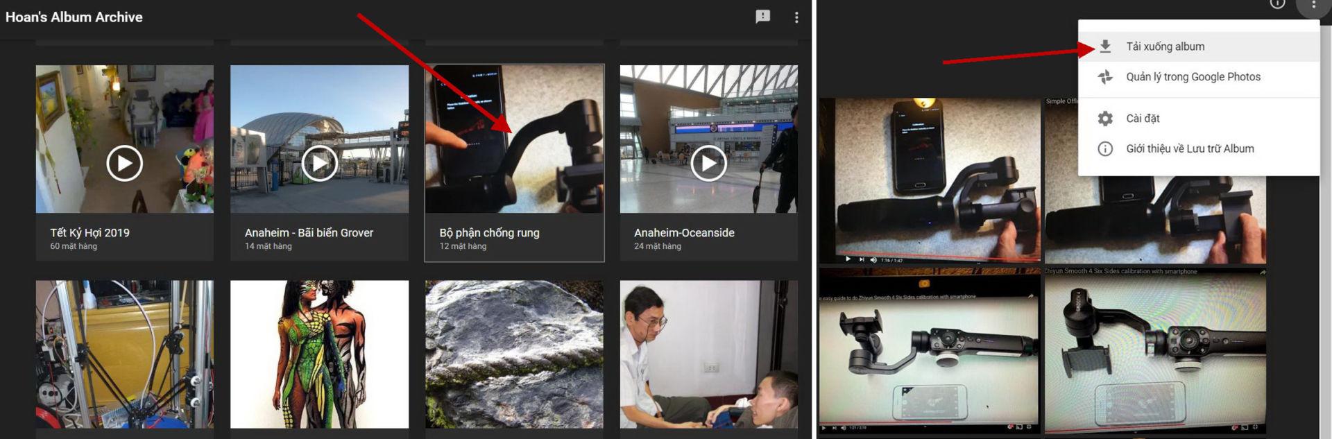 Download hình trên Google Photos về máy tính - 5