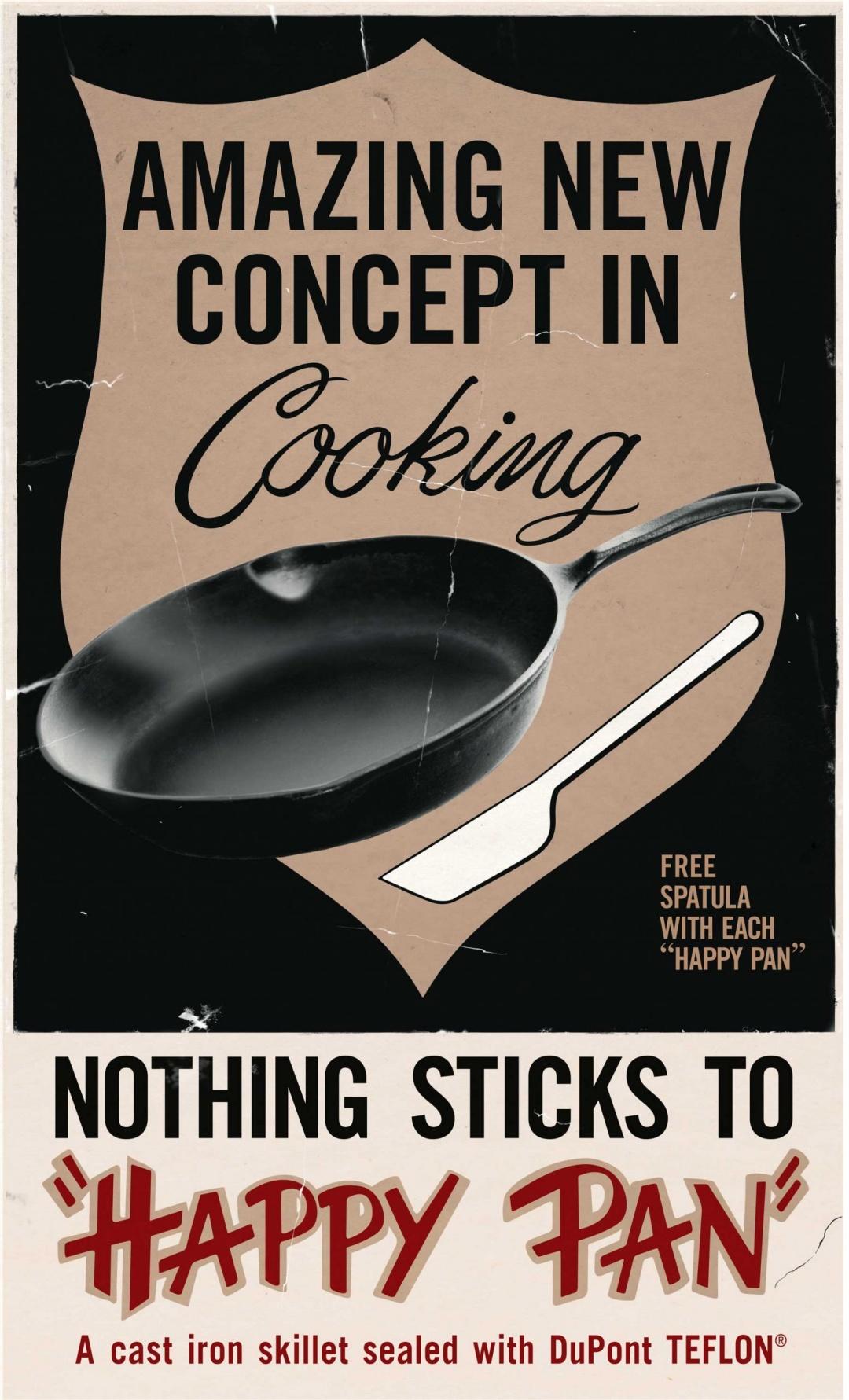 Tại sao đôi khi thức ăn vẫn bị dính vào đáy chảo chống dính? - 2