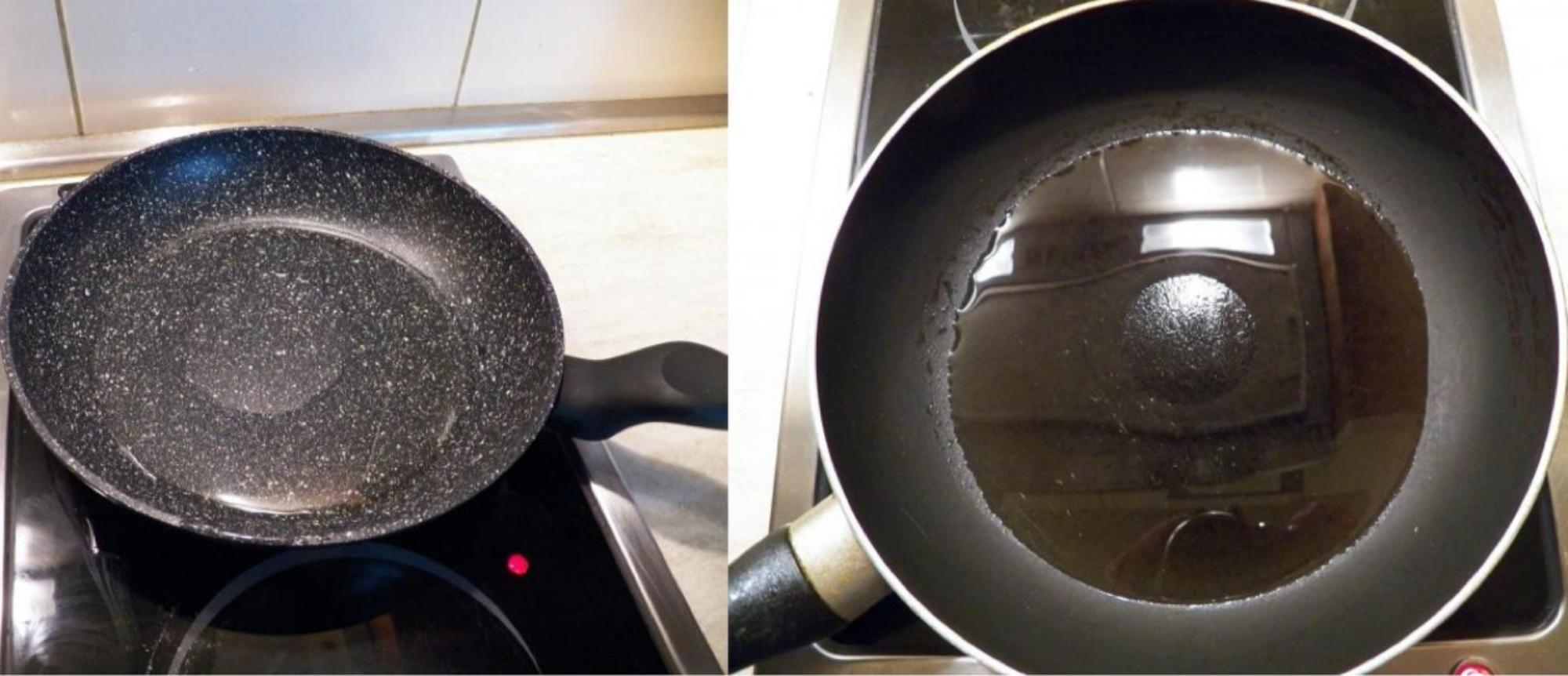 Tại sao đôi khi thức ăn vẫn bị dính vào đáy chảo chống dính? - 3