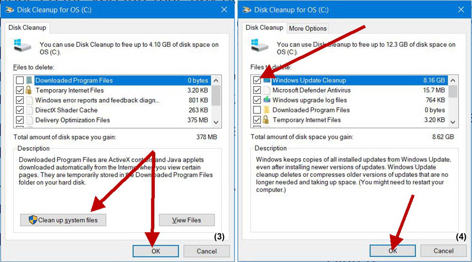 Xóa Windows.old sau khi update Windows 10 - 3