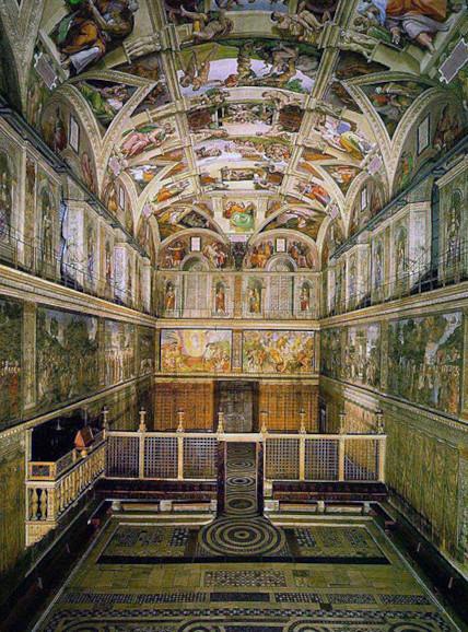 """Nhà nguyện Sistine và bức """"Chúa Trời tạo ra Adam""""  - 14"""