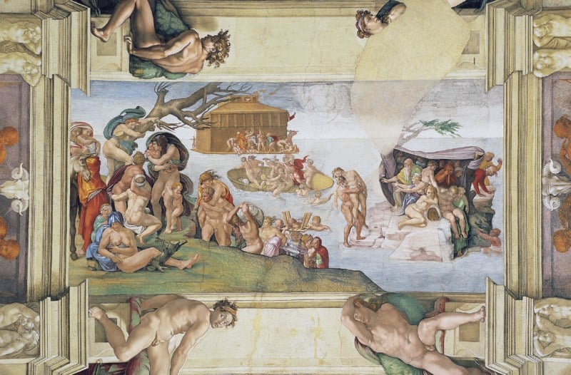 """Nhà nguyện Sistine và bức """"Chúa Trời tạo ra Adam""""  - 11"""