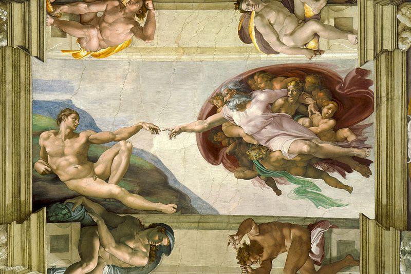 """Nhà nguyện Sistine và bức """"Chúa Trời tạo ra Adam""""  - 1"""