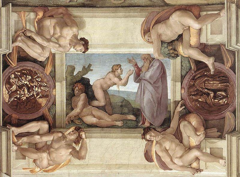 """Nhà nguyện Sistine và bức """"Chúa Trời tạo ra Adam""""  - 8"""