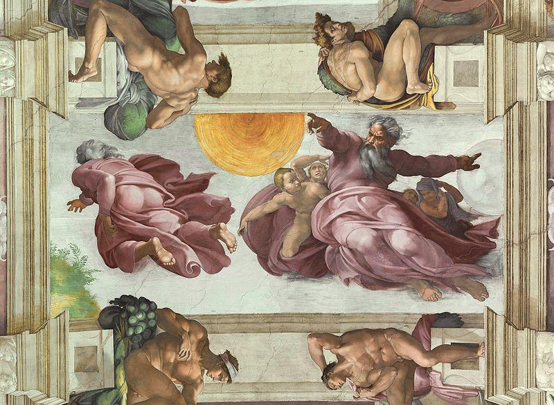 """Nhà nguyện Sistine và bức """"Chúa Trời tạo ra Adam""""  - 5"""