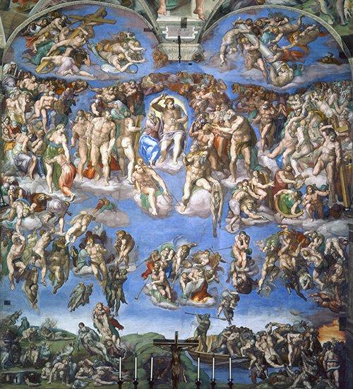 """Nhà nguyện Sistine và bức """"Chúa Trời tạo ra Adam""""  - 13"""