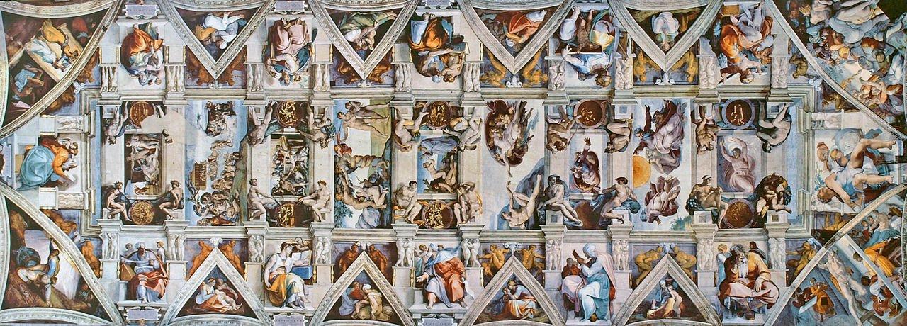 """Nhà nguyện Sistine và bức """"Chúa Trời tạo ra Adam""""  - 3"""
