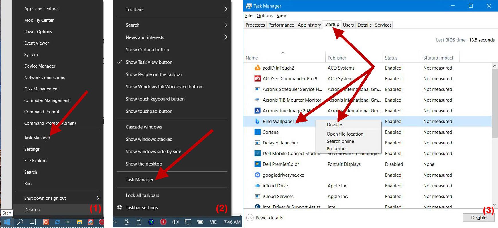 Quản lý app startup trong Windows 10 - 1