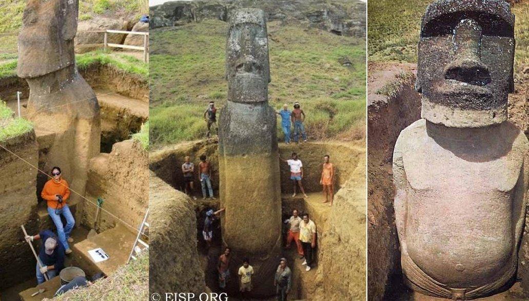 Khám phá nguồn gốc bí ẩn những bức tượng đá trên Đảo Phục sinh - 2