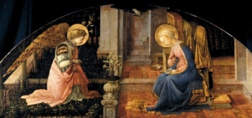 Đức mẹ Mary tiếp nhận thiên ý qua hội họa phương Tây - 9