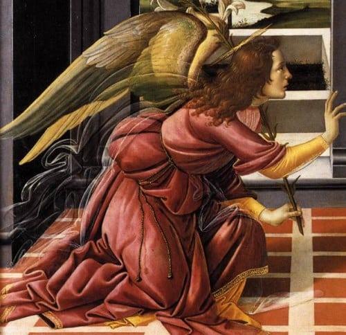 Đức mẹ Mary tiếp nhận thiên ý qua hội họa phương Tây - 2