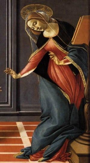 Đức mẹ Mary tiếp nhận thiên ý qua hội họa phương Tây - 4