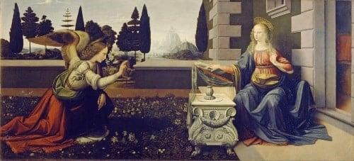 Đức mẹ Mary tiếp nhận thiên ý qua hội họa phương Tây - 8
