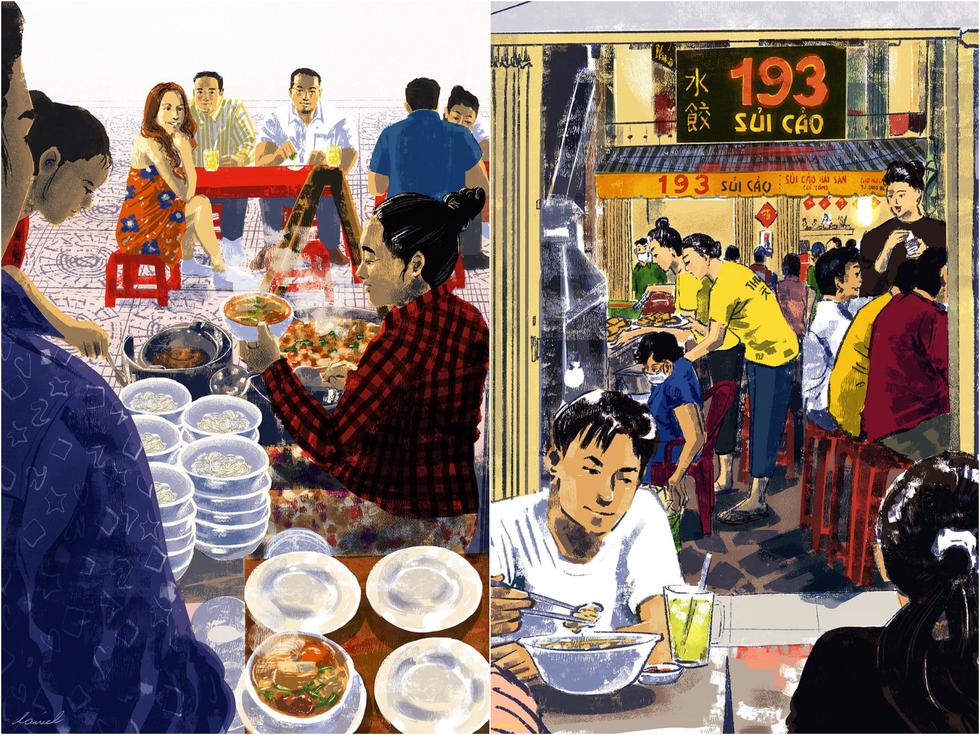 Bộ tranh 'vẽ Sài Gòn bằng cả trái tim' của họa sĩ Philippines - 4