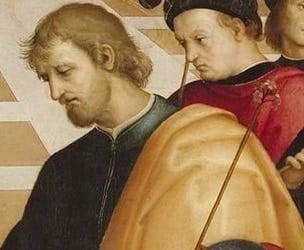 """Bức """"Hôn lễ của Đức mẹ đồng trinh"""" của Raphael - 6"""