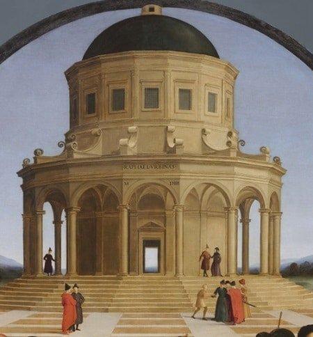 """Bức """"Hôn lễ của Đức mẹ đồng trinh"""" của Raphael - 7"""