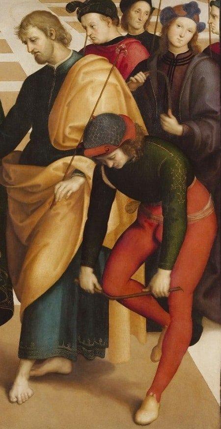 """Bức """"Hôn lễ của Đức mẹ đồng trinh"""" của Raphael - 5"""