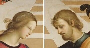 """Bức """"Hôn lễ của Đức mẹ đồng trinh"""" của Raphael - 3"""