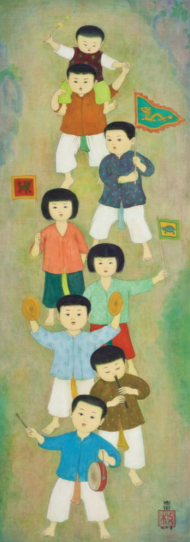 Xem tranh của danh họa Việt có tác phẩm đắt nhất trên thị trường đấu giá - 15